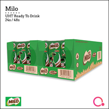 [NESTLÉ®] MILO® UHT Ready To Drink! 24/48 x 200ml [Everyday Energy Drink]