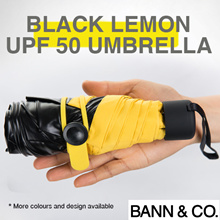 Umbrella - Automatic / Anti-UV Coating / UPF50 / Lightweight / Heat Reduction / Flower Print