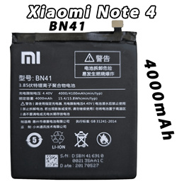 New Internal Battery for Xiaomi Redmi Note 4 Note 4X  BN41 BN 43 4000mAh