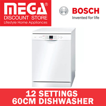 BOSCH SMS63L02EA 60CM DISHWASHER / 12 PLACE SETTINGS / LOCAL WARRANTY