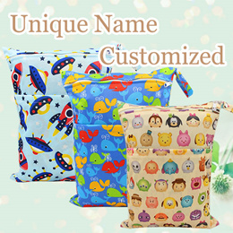 Customised wetbags★Waterproof Wetbags with Free name Customisation★