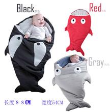 Smartlife New Arrival Cute Carton Shark Baby Sleep Bag Winer Baby Sleep Sack Warm Baby Blanket Warm