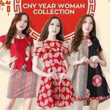 [Buy2FreeDelivery][ NEW !! 16 JAN ]CNY COLLECTION - Cheongsam - Imlek - Baju Couple - Chinese New Ye