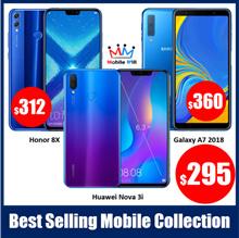 Huawei Nova 3i  | Honor 8X | Galaxy A7 2018  《SG Local Warranty READY STOCK》