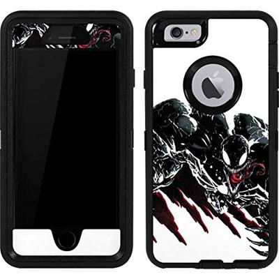 [sb]Skinit Marvel Venom OtterBox Defender iPhone 6 Skin - Venom Slashes  Design - Ultra Thin, Lightwe