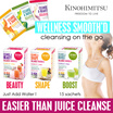 [Juice Detox] Kinohimitsu Wellness SmoothD * Come in 3 Flavors* Slimming|Beauty|Healthy * Psyllium Husk * Blogger recommended * Best Seller in Singapore!  ~~