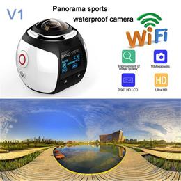V1 360° Camera HD Ultra Mini Camera WIFI Sports Camera/VR Action Camera Video Cam Waterproof 30M