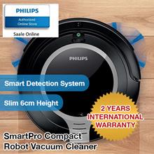 Philips SmartPro Compact Robot Vacuum Cleaner - FC8710/01 with 2 years international warranty