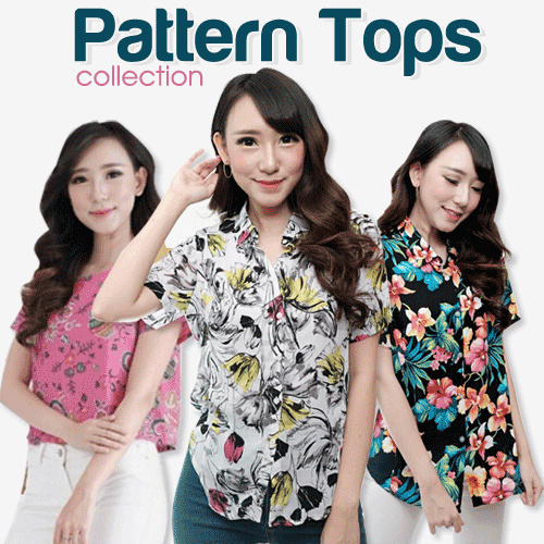 Branded Blouse Collection Deals for only Rp29.000 instead of Rp64.444