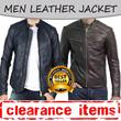 [LIMITED OFFERS - CLEARANCE SALE] Jaket Semi Kulit Pria Terlaris // Banyak Model / Size M-XXXL