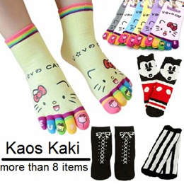 Fashion kids lace Sock / Kaos kaki anak sepaha / selutut/ Hello kitty/renda