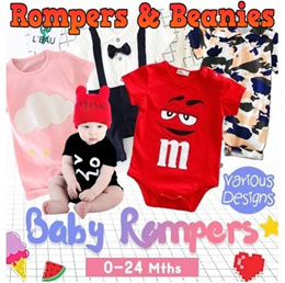 Priced to Clear★Baby Pajamas★Beanie★Rompers★100% cotton baby clothes ★Jumpers ★Express Delivery