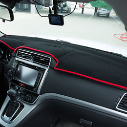 car dashboard covers mat mitsubishi outlander 2012-2016 years left hand drive