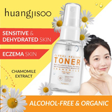 HuangJiSoo 😍Chamomile Toner Deluxe 30ml Big Bottle Available | Suitable for Eczema + Sensitive