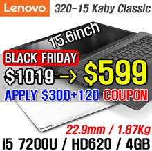 [Lenovo] 2017NEW ideapad 320-15 Kaby Classic / Tablet 7th generation Kavi Lake / Fully open hinge