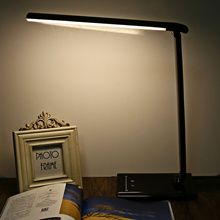 [TABLE LAMP] DIMMABLE LED DESK TABLE LAMP TOUCH SWITCH LIGHT [BLACK] [US PLUG]