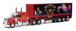 New Ray Toys Diecast Kenworth Elvis Truck - The Blue Suede 1:32 Scale