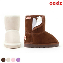 (Korean product CP) Oz Kids Ooz Velcro boots Baby food Fleece boots Ugg boots (baby boots for baby,