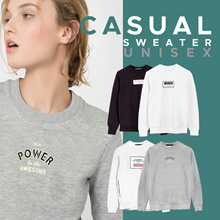 New Arrival Casual Sweater For Unisex - 4 Warna - Sweater Wanita - Sweater Pria - Baju Hangat