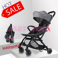 2018 KIDDOPOTAMUS BABY STROLLER ★Baby Cabin Travel Stroller Easy for Travel Foldable Pram