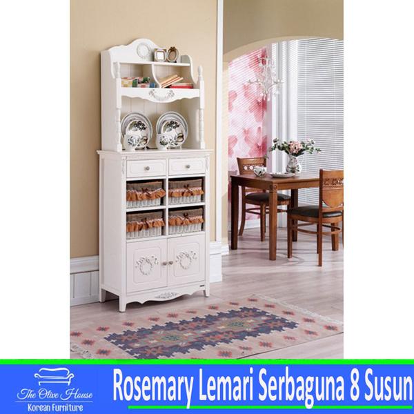 Buy Rosemary Lemari Serbaguna 8 Susun Deals For Only Rp3 900 000