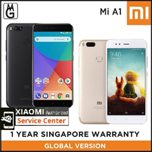 Global Version Xiaomi Mi A1 Local 1 Year warranty / Authentic xiaomi / 4GB RAM / 64GB ROM /