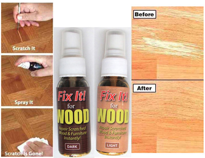 Qoo10 Fix Wood Fast Action Wood Scratch Remover For Wood