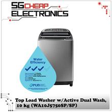 SAMSUNG WA10J5750SP/SP op Loader with Active Dual Wash 10 kg -Singapore Warranty