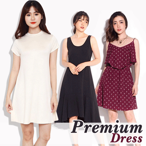 NEW STYLE ADDED!!LIMITED**PREMIUM DRESS-AUTHENTIC/ASLI 100%** Deals for only Rp35.000 instead of Rp59.322