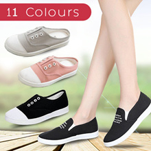 Promotion of price 9.9$  free shipping New canvas shoes student flat casual shoes 18 colors