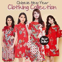 [Buy2FreeDelivery][ NEW !! 24 JAN ]CNY COLLECTION - Cheongsam - Imlek - Baju Couple - Chinese New Ye