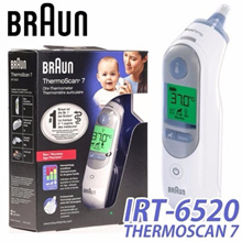 Braun IRT-6520 / ThermoScan 7 / Baby / Adult Professional Digital Ear Thermometer