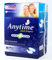 ***ANYTIME ADULT DIAPERS***ECONOMICAL AND GOOD QUALITY!!***