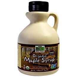 Now Foods Organic Maple Syrup Grade A Dark Color 16 fl oz (473 ml)