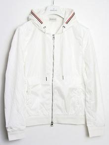 Moncler MONCLER men's nylon zip up jacket jacket BIANCO / GRIGIO (white) 8439000 80949 004