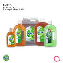 [RB] 【Authentic stocks!】Dettol Antiseptic Germicide range | Multi-purpose Disinfection Liquid
