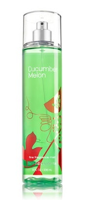 Bath and Body Works CUCUMBER MELON Fine Fragrance Mist 8 fl oz / 236 mL Signature Collection