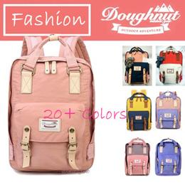 Premium Quality Doughnut Macaroon Backpack Womens Mens Lady Student Backpack  Travel Bag 002789bc1ec95