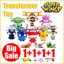 Super Wings Mini Transformer season2 / 12 kinds / Kids best gift / TV Animation Character