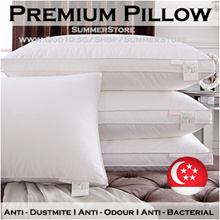 [Local Seller] Premium Microfiber Pillow / High Pillow / Low Pillow / Anti Dust mite / Soft Firm
