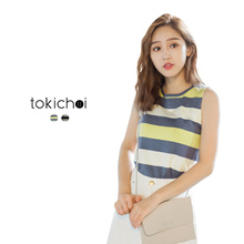 TOKICHOI - Striped Tank Top-171933