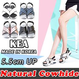 [KEA]Korea premium brand 5 Color Women Natural cowhide sandals made in KOREA