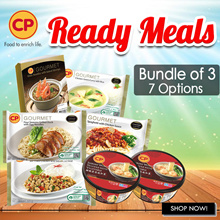[CP Food] Choices Available! Ready Meals Any 3 for $10.50 !