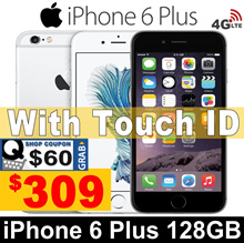 (MAKE $309) iPhone 6 Plus 128GB | 5.5 inches | All Good Working |99% New| Unlocked | Refurbished set