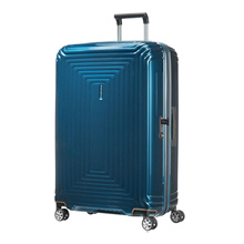 [Free Shipping] Samsonite Neopulse Spinner 75/28 Metallic Blue