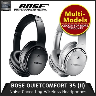 9ac52206fb6 [12 Mths Warranty] BOSE QC 35 II Headphone - ACOUSTIC NOISE CANCELLING /  VOLUME