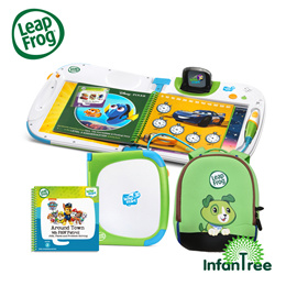 LeapFrog Leapstart Interactive Learning System/ 3D - Green / Pink (2-7 yrs)| FREE GIFT worth $22.90