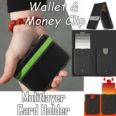 Money Clip Wallet Clamp Stainless Steel Slim Clip Portable Brass Bookmark Clip Money Note Clip Credit Card Holder Outdoor Survival Tool Pack Of 2