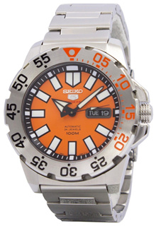 [CreationWatches] Seiko 5 Sports Automatic Monster SRP483K1 SRP483K SRP483 Mens Watch