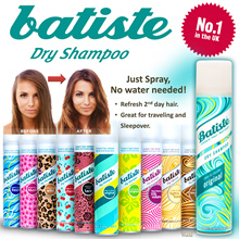 ⚡️FLASH SALE⚡️ BATISTE DRY SHAMPOO. UK NO.1 DRY SHAMPOO. NEW!! 2in1 Shampoo Conditioners!